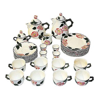 Villeroy & Boch Wild Rose Tea Set - Service for 8