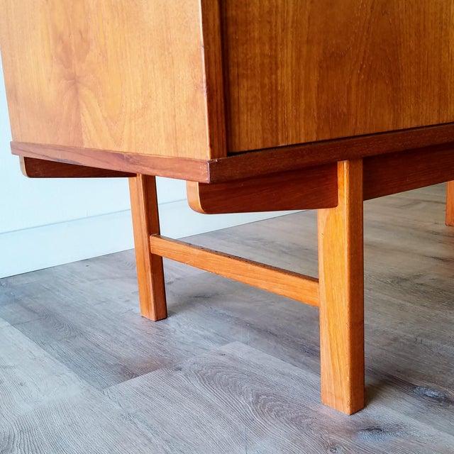 Brown Vintage Folke Ohlsson for Dux Style Teak Credenza For Sale - Image 8 of 13