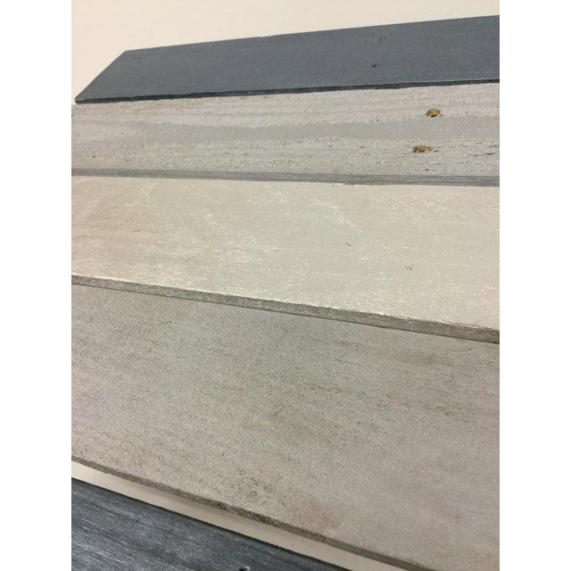 Wood Industrial Reclaimed Hardwood Meditation Table For Sale - Image 7 of 13