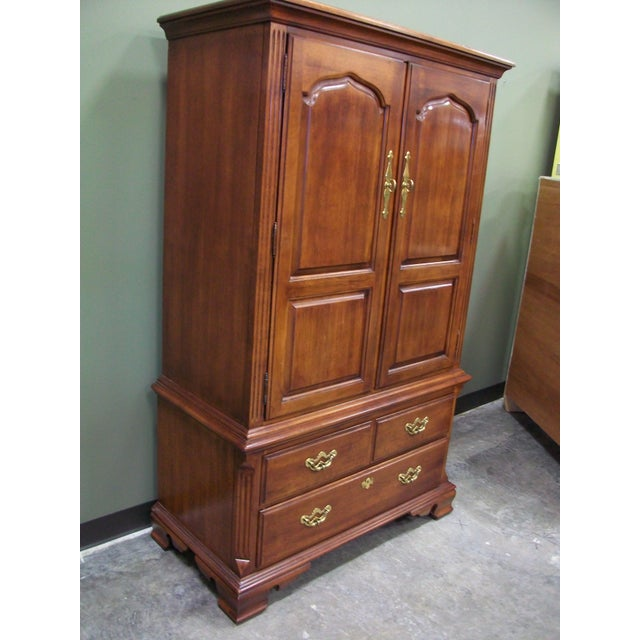 Thomasville Collectors Cherry Armoire - Image 11 of 11