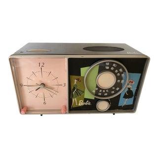Vintage Barbie Clock Radio For Sale