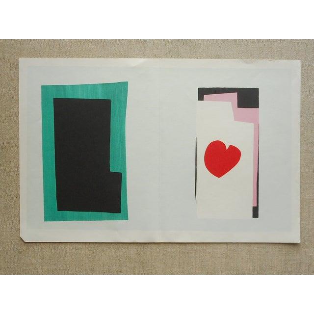 "Vintage Folio Size Matisse Print ""Jazz"" - Image 2 of 3"
