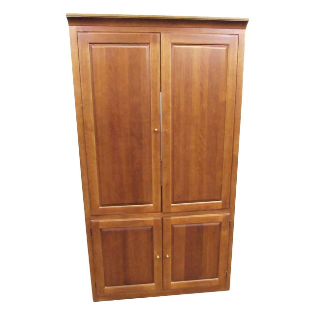 Media Armoire Cabinet by Thomasville For Sale