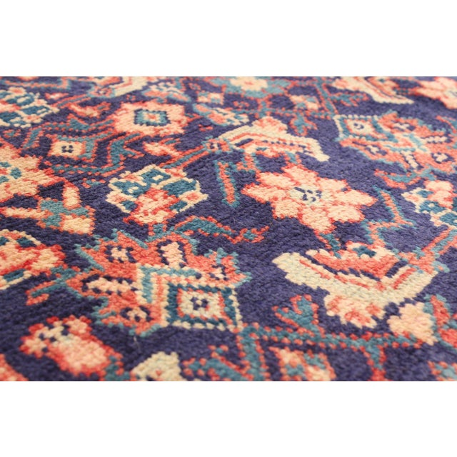 Textile Vintage Turkish Style Rug For Sale - Image 7 of 9