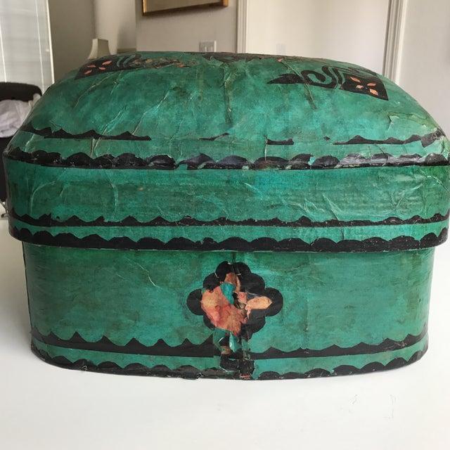 Antique Paper Mache Box - Image 7 of 7