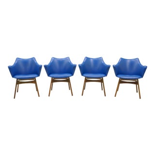Adrian Pearsall Dining Chairs, Set of Four