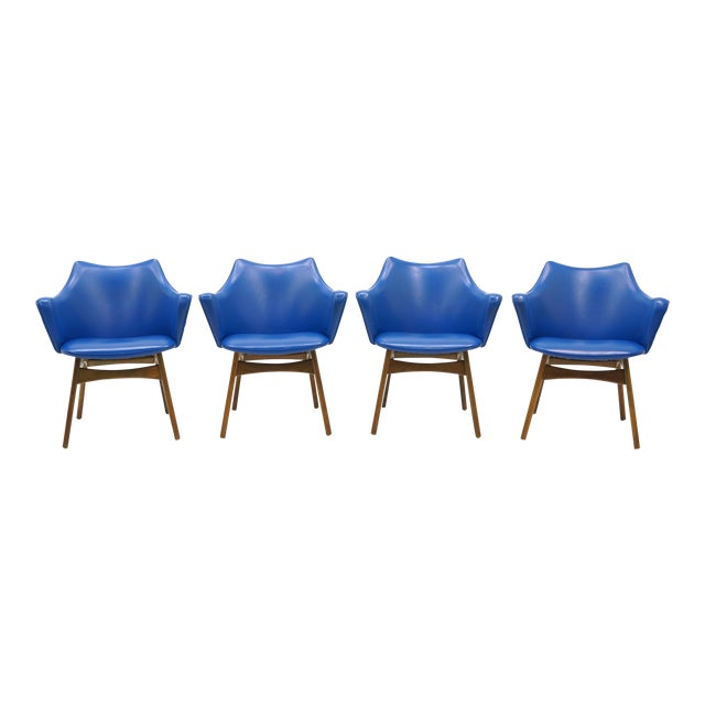 Adrian Pearsall Dining Chairs, Set of Four - Image 1 of 10