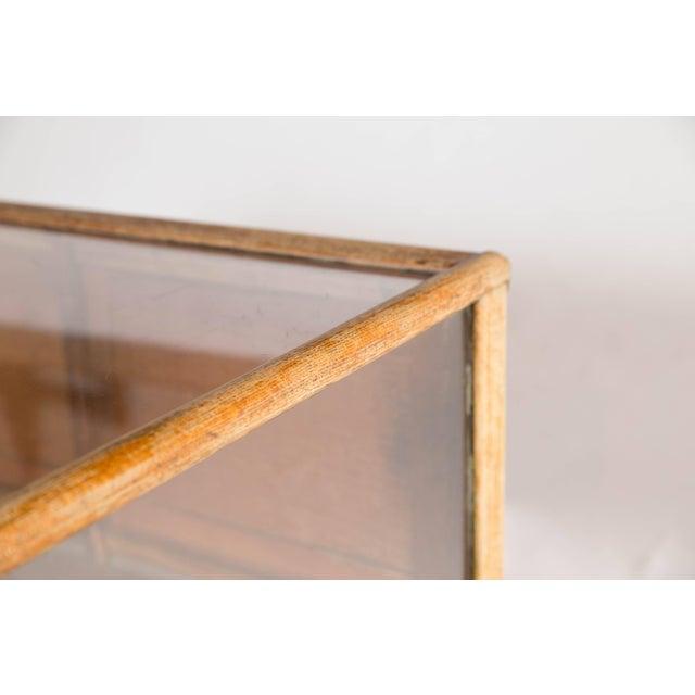 Wood C.J. Raymond Display Cabinet For Sale - Image 7 of 10
