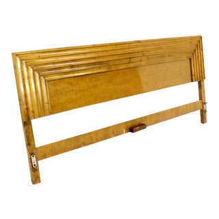 Edmond Spence Solid Birch Swedish King Size Headboard For Sale