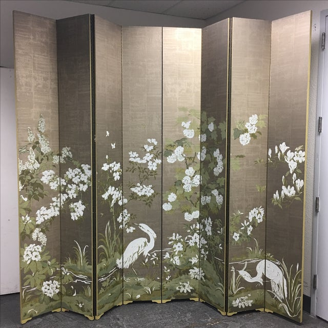 Chinoiserie Custom Designed Screen - Image 2 of 9