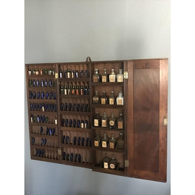 1900 - 1909 19th C. Hodders Ltd Chemists Cabinet For Sale - Image 5 of 12