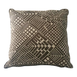 Nickey Kehoe Collection Pillow in Claremont Silk For Sale
