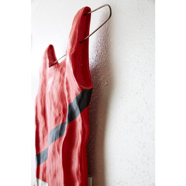Hanging Bathing Suit Wall Sculpture For Sale - Image 10 of 13