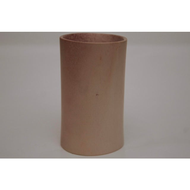 Minimalist Carved Marble Vase / Pencil Cup For Sale In Dallas - Image 6 of 13