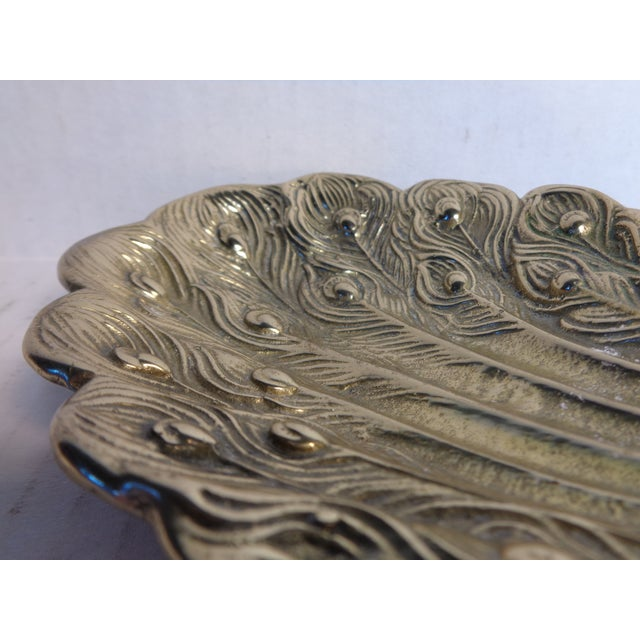 Brass Peacock Soap Dish For Sale In Richmond - Image 6 of 6
