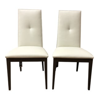 Pair of Alf Italia Tivoli Side Chairs For Sale