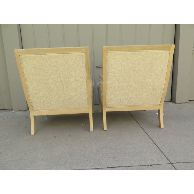 """Mid-Century Modern Late 20th Century Vintage Roger Thomas """"Hitchcock"""" Lounge Chair- A Pair For Sale - Image 3 of 7"""