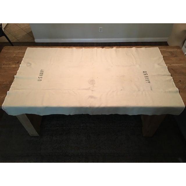 WWII Era US Navy Blanket - Image 4 of 10