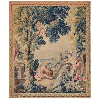 18th Century Antique Tapestry From Lille, France For Sale