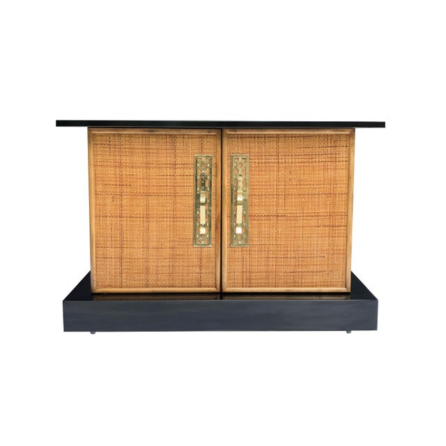 Mid Century Asian Inspired Cabinet For Sale - Image 10 of 11