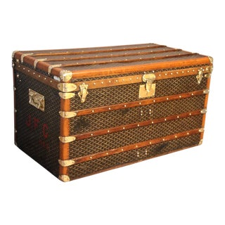 1930s Goyard Trunk For Sale