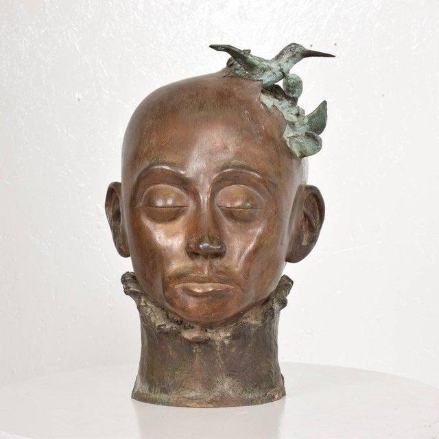 Surrealist Bronze Sculpture, Mexico, 1960s For Sale - Image 10 of 13