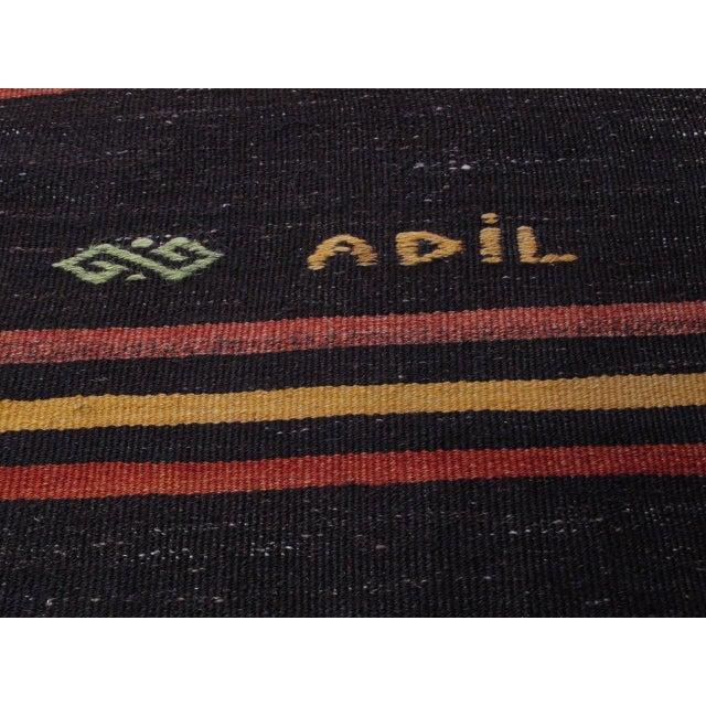 """Striped Kilim, """"Adil"""" For Sale In New York - Image 6 of 10"""