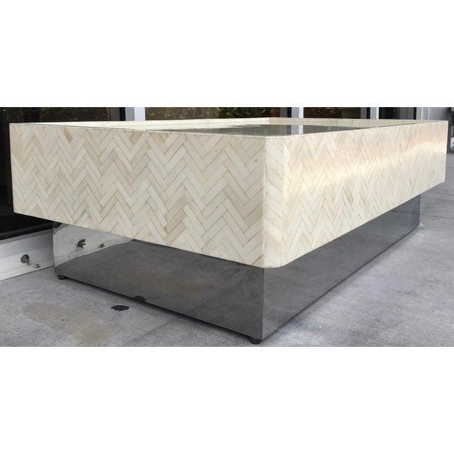 Tessellated Bone Coffee Table - Image 4 of 7