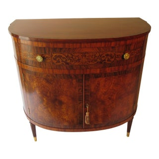 1940s Console Cabinet Made by Joseph Gerte of Boston For Sale