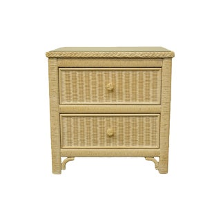 Late 20th Century Lexington / Henry Link Furniture Commode Nightstand For Sale