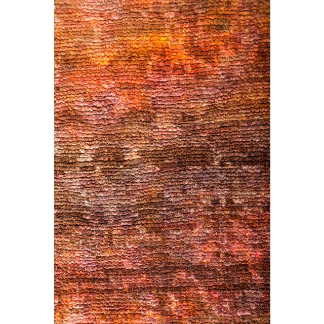 """Vibrance Hand Knotted Runner Rug - 3' 2"""" X 10' 8"""" - Image 3 of 4"""