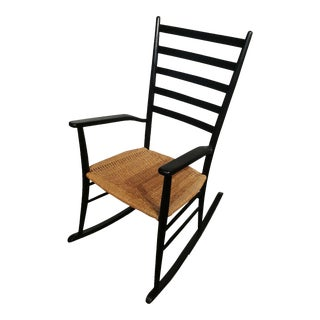Italian Chiavari Style Mid-Century Rocking Chair
