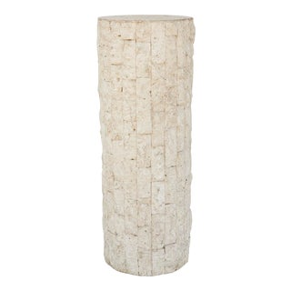 1980s Tessellated Sandstone Pedestal For Sale