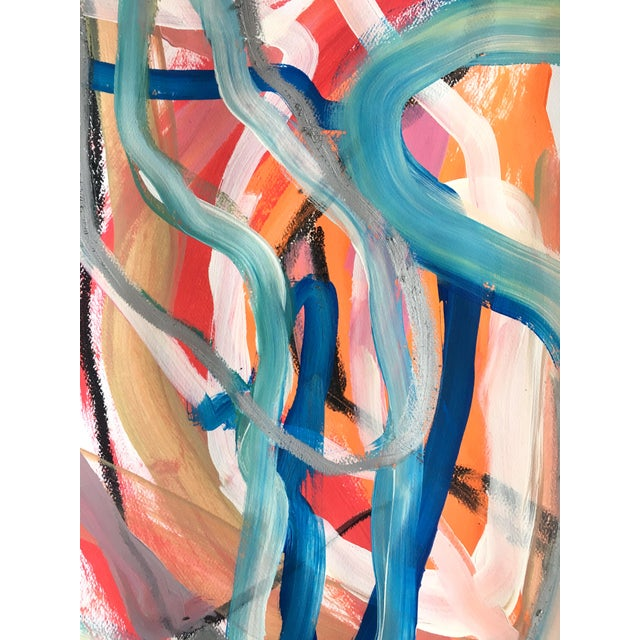 Day 88 Original Abstract Paining by Jessalin Beutler For Sale - Image 4 of 5