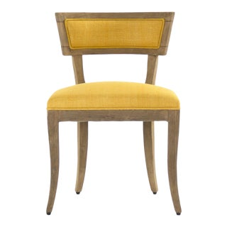 Rochester Side Chair in Yellow For Sale