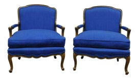 Image of Baker Furniture Company Bergere Chairs