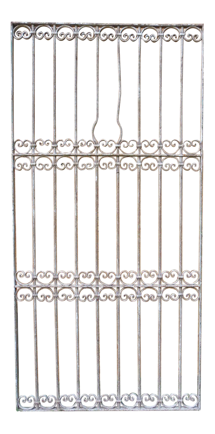 Vintage Used Silver Doors and Gates Chairish