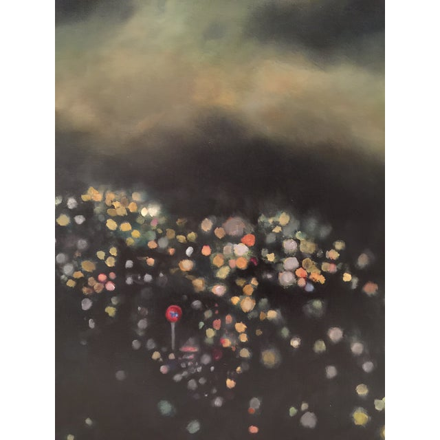 "Bryan Boomershine ""La Lights"" Oil Painting - Image 2 of 4"