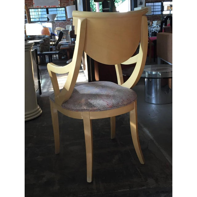 Two Captain & Four Gondola Dining Chairs - Set/6 - Image 4 of 6
