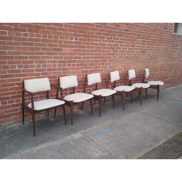 Mid-Century Dining Chairs by Young - Set of 6 - Image 3 of 6