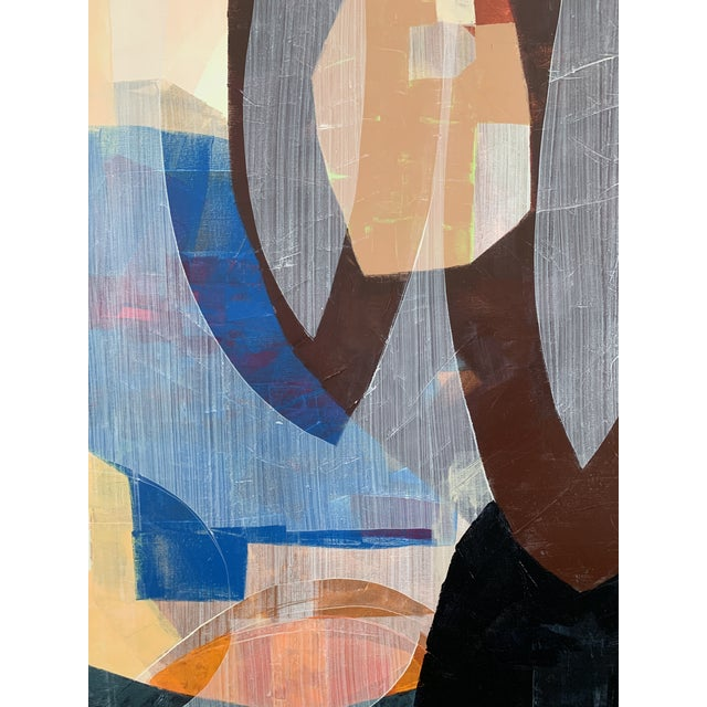 2010s Large Scale Original Abstract Acrylic Painting For Sale - Image 5 of 6