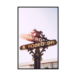 """Rodeo Drive"" Original Framed Photograph"