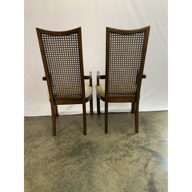 Wood Baughman Style Mid-Century Modern American of Martinsville Dining Table and Chairs -- Set of 7 For Sale - Image 7 of 13