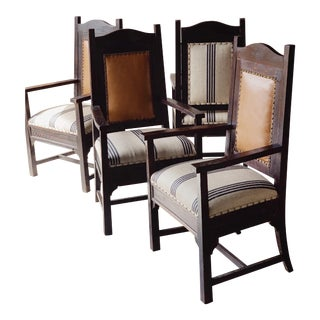 Mission Chairs - Set of 4 For Sale