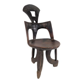 Late 19th Century Antique Ethiopian Jima Chair For Sale