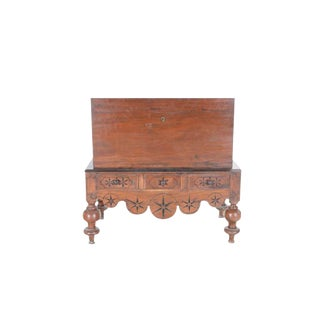Dutch Colonial Mahogany Chest On Stand For Sale