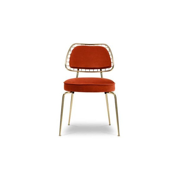 Marie is a rather an occasional dining chair that incorporates all of the mid-century elements into a contemporary vision....