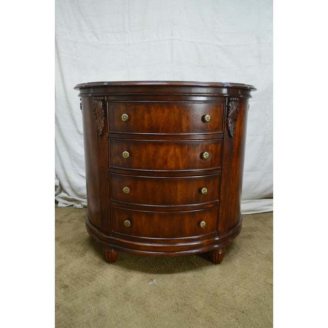Hooker Furniture Seven Seas Collection Demilune Chest of Drawers For Sale - Image 9 of 13