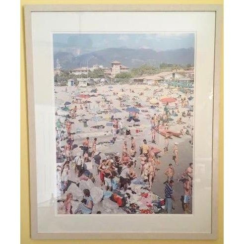 Massimo Vitali (Italy, 1944) MadiMa Ragnodoro, Italy Lithograph C.1990 Limited edition lithograph. Edition sizes 120. A...