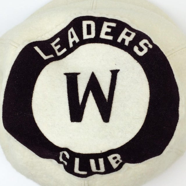 Antique Wool Short Bill Baseball Softball Ny Leaders Club Cap - Image 3 of 6